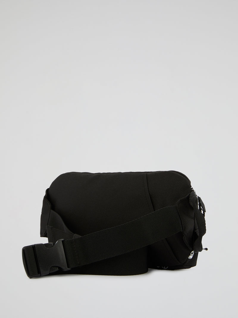 Massan Black Bum Bag