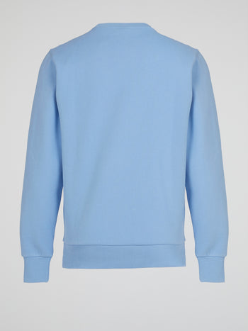 Haverford Blue Crewneck Sweatshirt