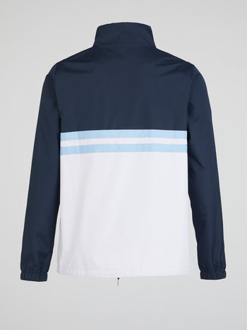 Agnello Navy Track Jacket