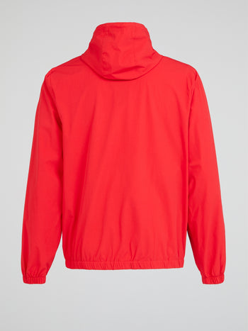 Nucci Red Zip Up Jacket