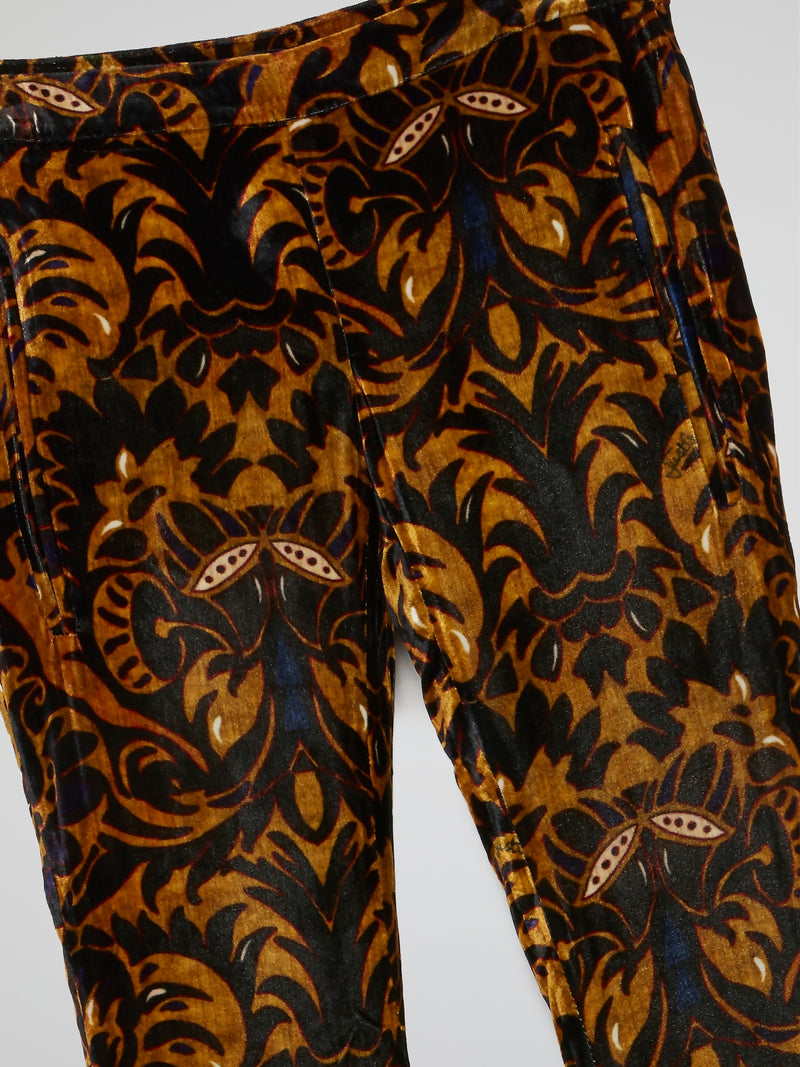 Baroque Inspired Bootcut Trousers