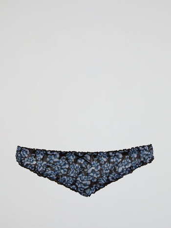 Floral Print Knickers