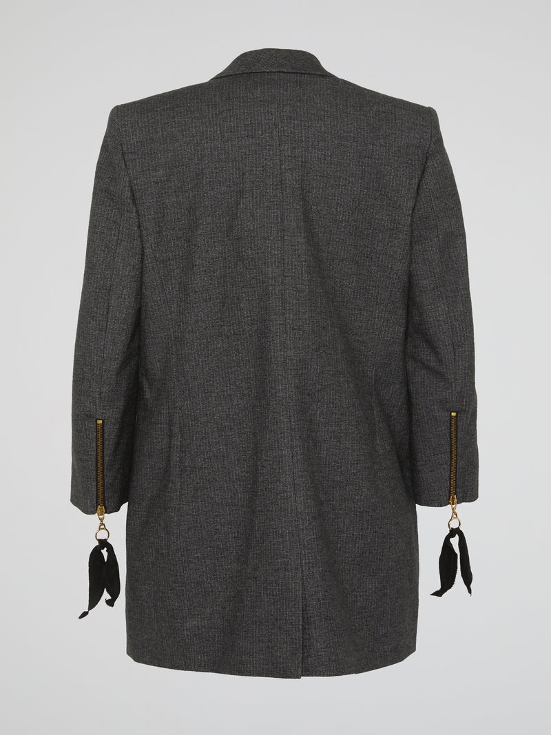 Grey Tweed Coat