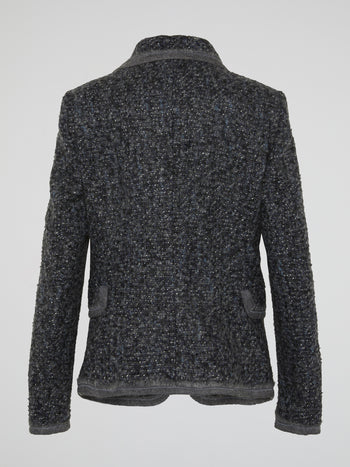 Grey Tweed Blazer