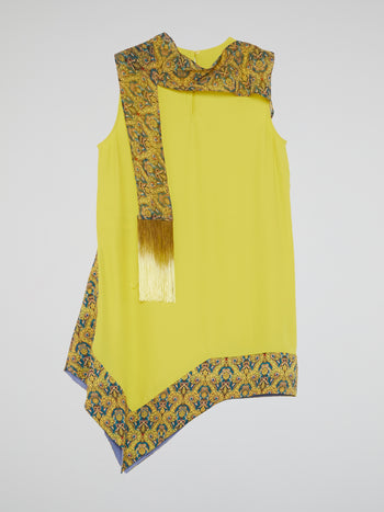 Chartreuse Asymmetric Top