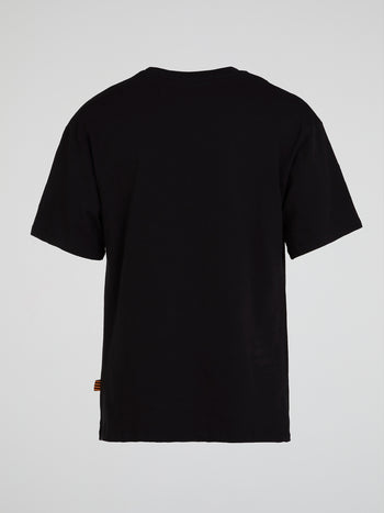 Black B Logo Crewneck T-Shirt