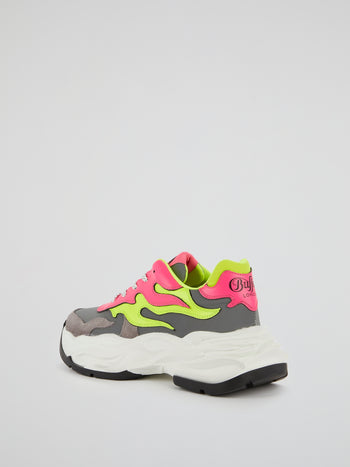 Eyza P Colour Block Sneakers