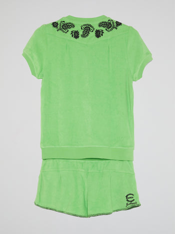 Green Loungewear Set