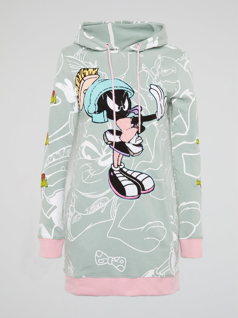 Marvin the Martian Hoodie Dress
