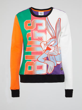 Bugs Bunny Colour Block Sweatshirt