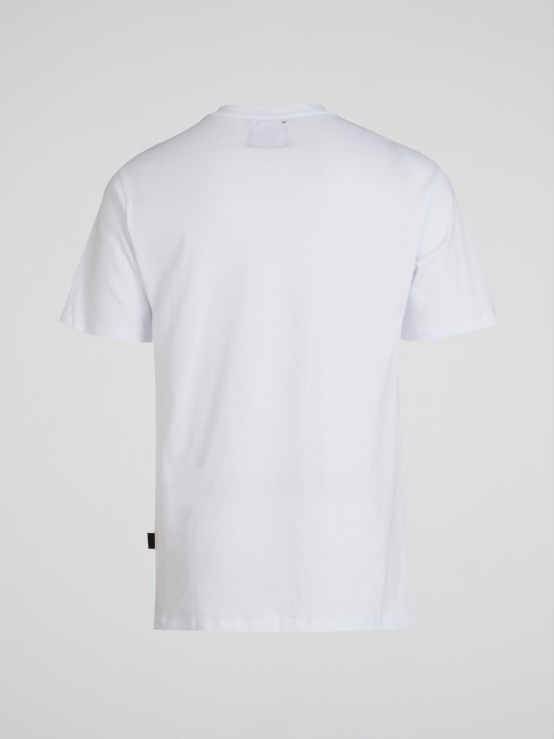 White Graphic Cotton T-Shirt