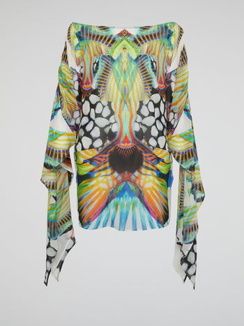 Butterfly Effect Short Kaftan