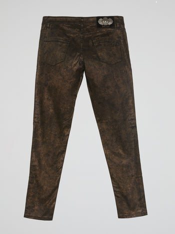 Brown Rustic Pants