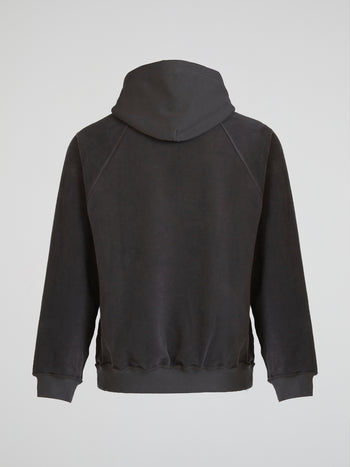 Dust Grey Inside-Out Hoodie