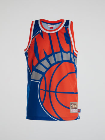 New York Knicks Big Face Jersey