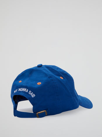 The Waterboy Bobby Boucher Blue Dad Hat