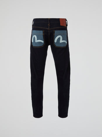 Seagul Embroidered Jeans