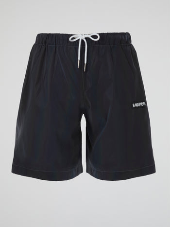 Rainbow 3M Reflective Active Shorts