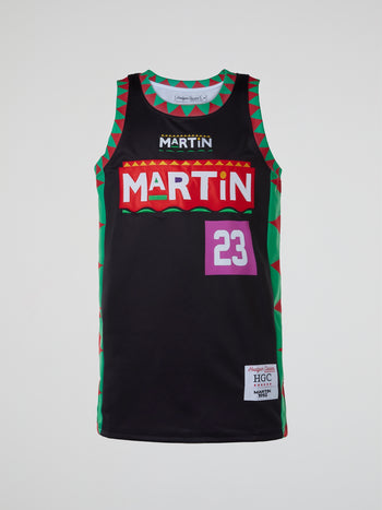 Martin Marty Mar Basketball Jersey