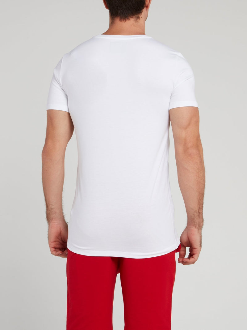 Original White Logo T-Shirt