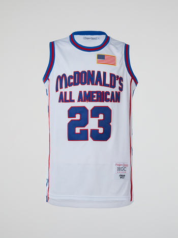 Jordan McDonalds All American Basketball Jersey