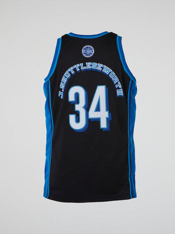 Black Jesus Shuttlesworth Away Basketball Jersey