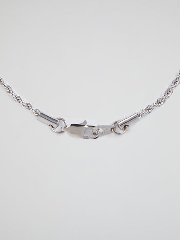 White Gold Rope Chain (2.5 mm)