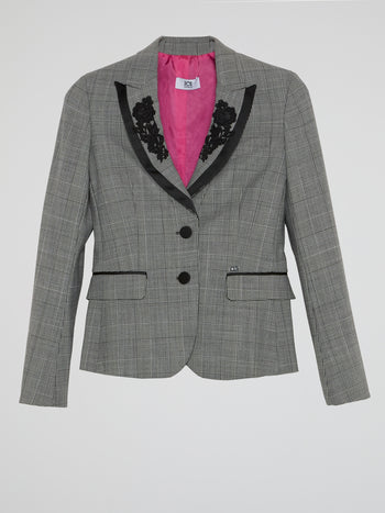 Glen Check Blazer