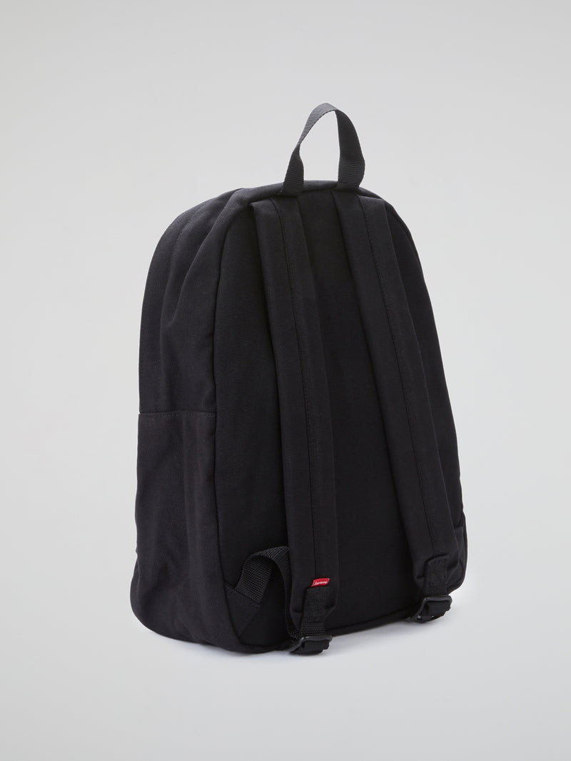 Black Canvas Backpack