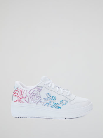 WX-100 Floral Casual Sneakers