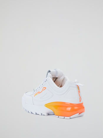 Disruptor 2a Fade Serrated Sole Sneakers