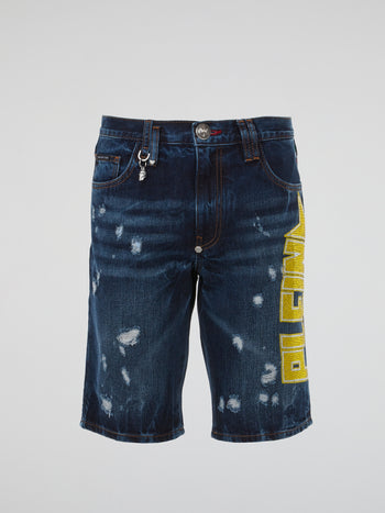 Plein Star Bermuda Shorts
