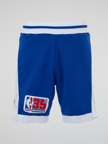 NBA Blue Basketball Shorts