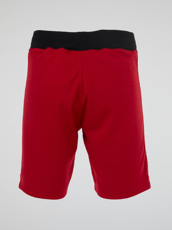 NBA Red Basketball Shorts