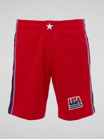 Red Swingman Shorts