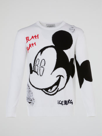 Mickey Mouse Knitted Sweater