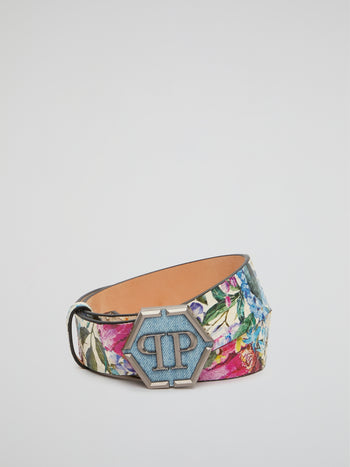Bayahibe Monogram Buckle Belt