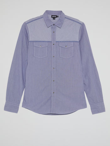 Purple Yoke Shirt