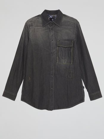 Black Washed Shirt