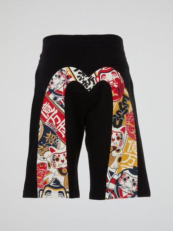 Godhead x Bonsai All-Over Print Daicock Sweatshorts