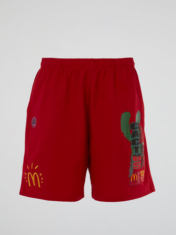 Travis Scott x McDonald's All American '92 Shorts