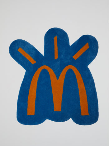 Travis Scott x McDonald's Cactus Arches Blue Rug
