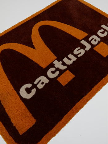 Travis Scott x McDonald's CJ Arches Inv Rug
