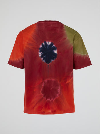 Red Tie Dye T-Shirt