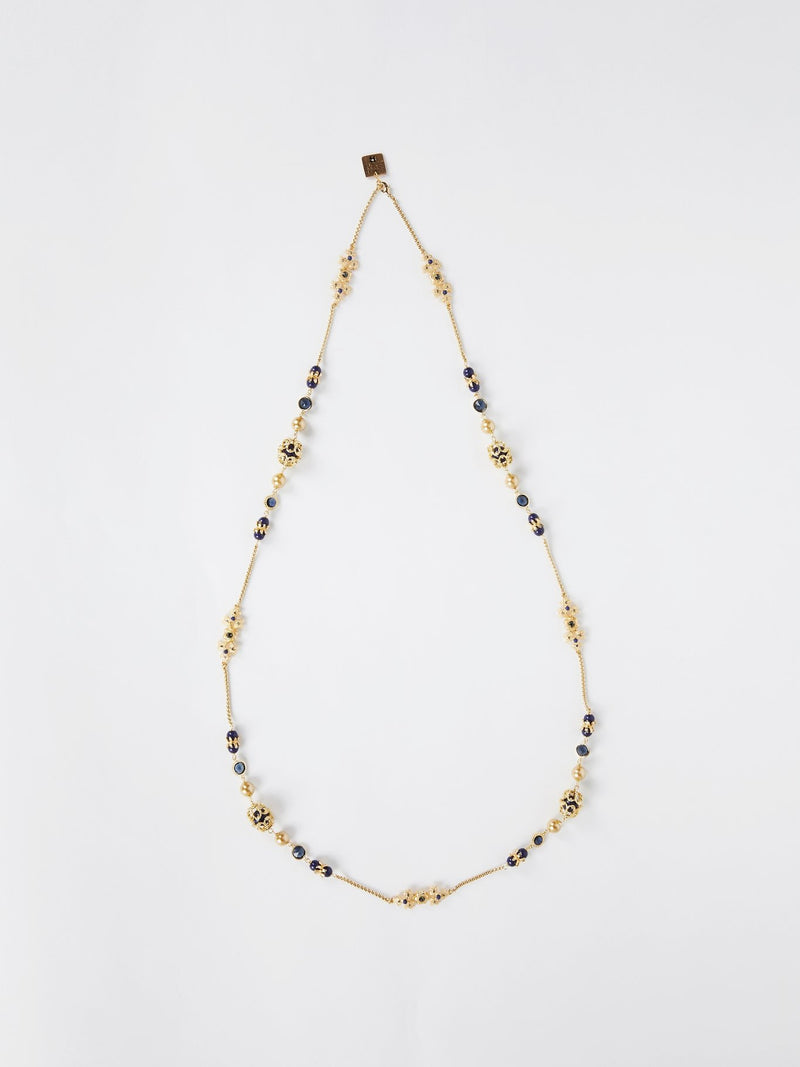 Gold Marine Pearl Necklace