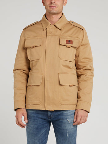 Brown Cargo Jacket