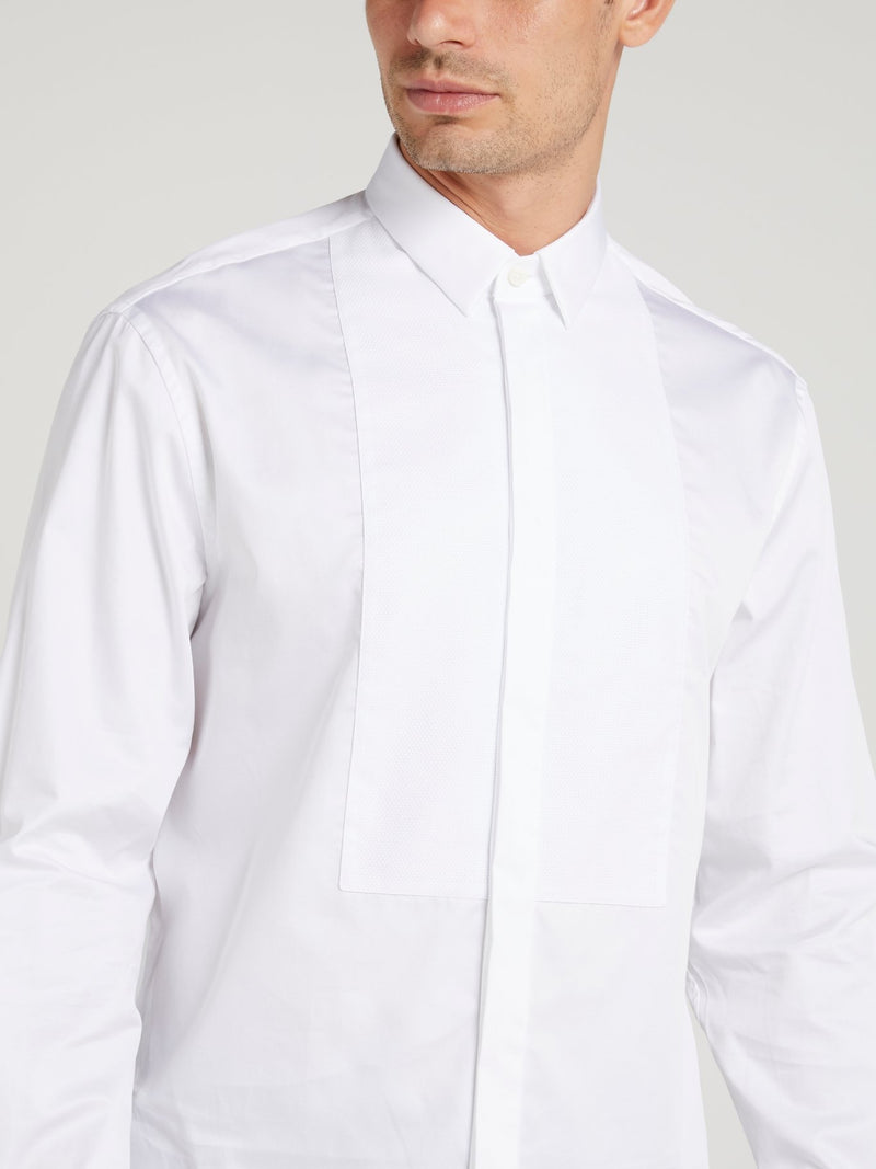 Classic White Long Sleeve Shirt
