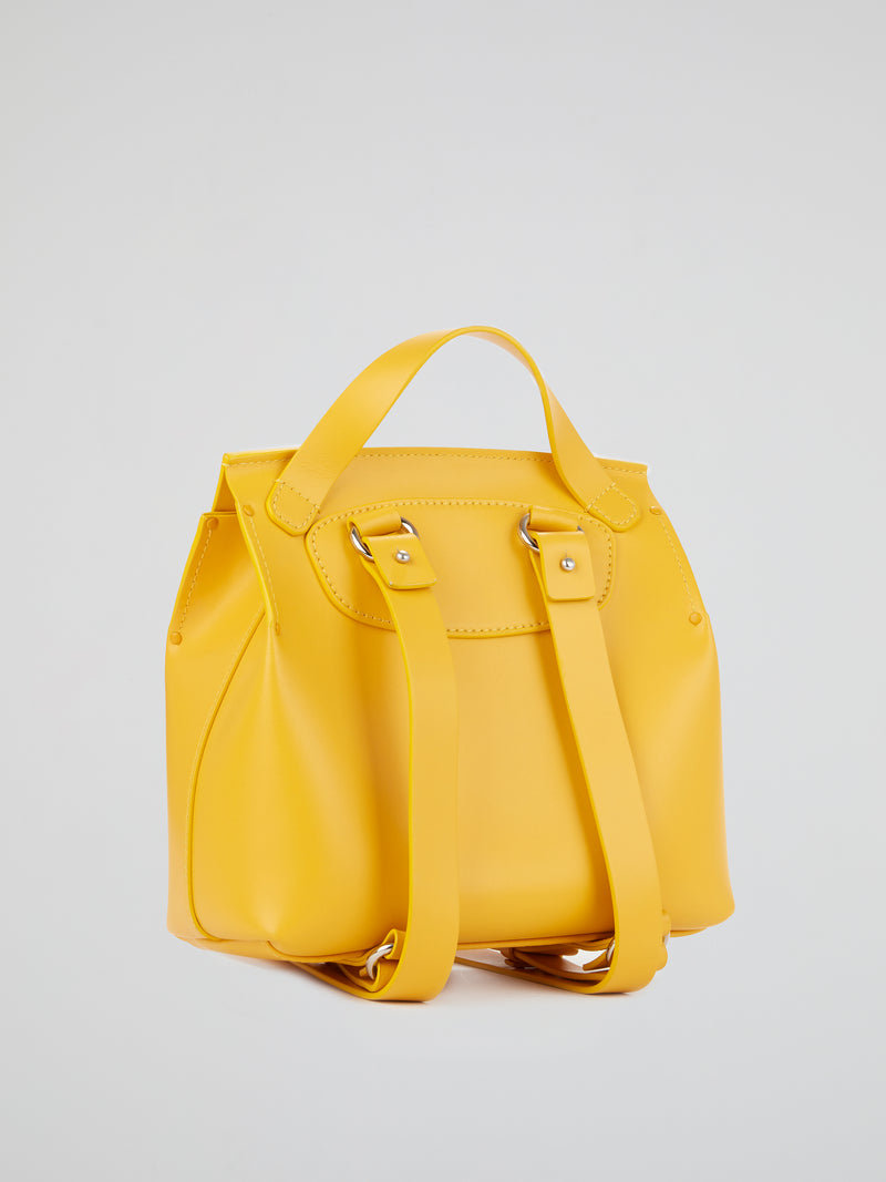 Hoodia Yellow Mini Backpack