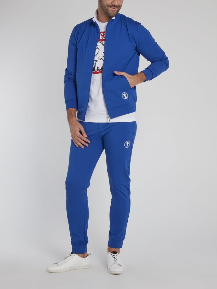 Blue Sport Icon Active Suit