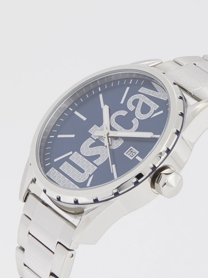 Credo Silver Steel Analog Watch